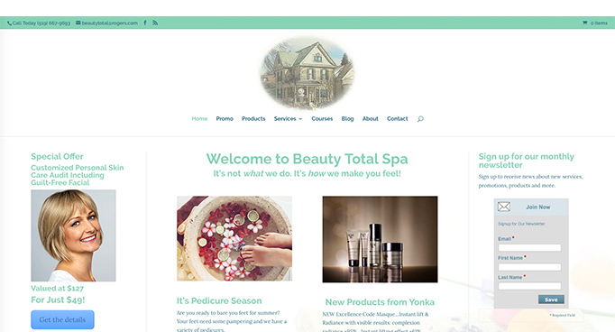 beauty-total-spa-website