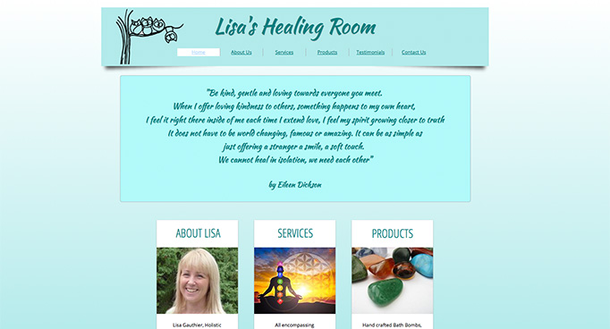 lisas-healing-room-website