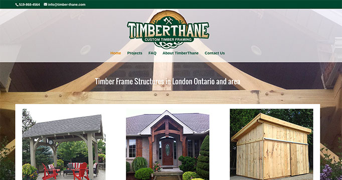 timberthane website